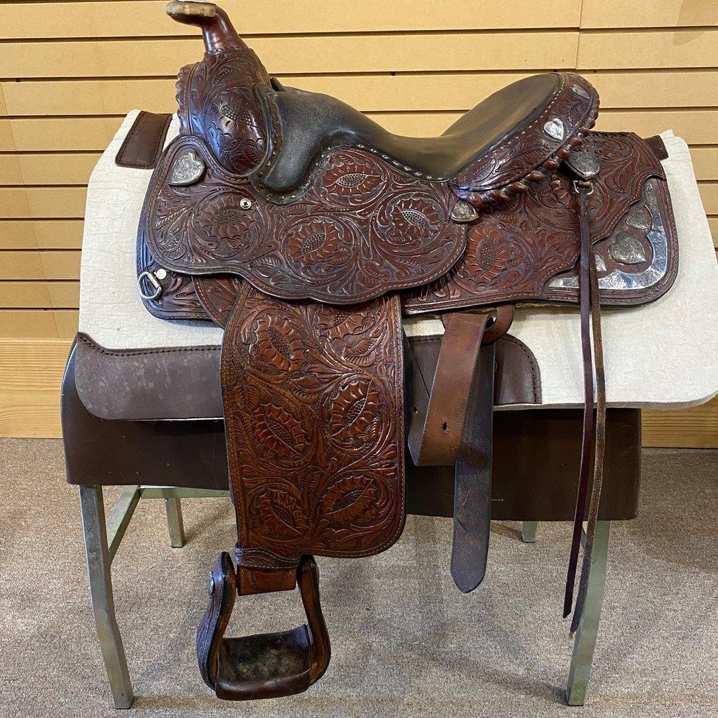 Used Billy Royal Arab Show Saddle - WT99