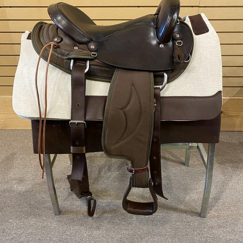 BIG HORN Used Big Horn Endurance Saddle