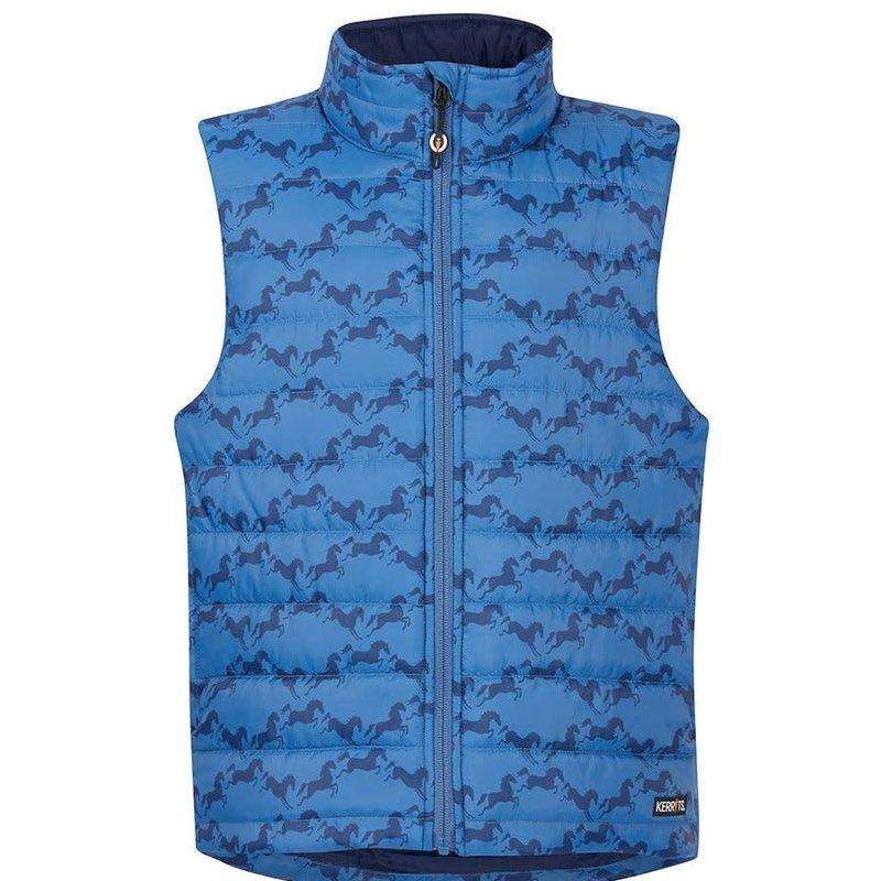 Kerrits Kids Horse Crazy Quilted Vest