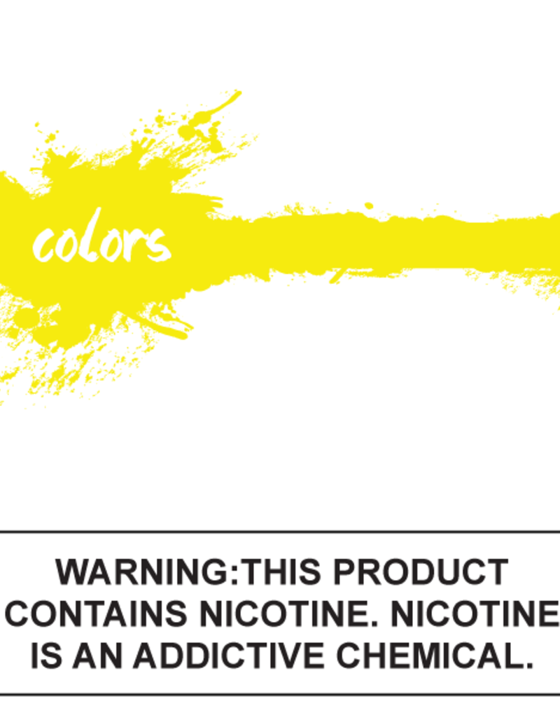 Colors E-Liquid Yellow 60mL