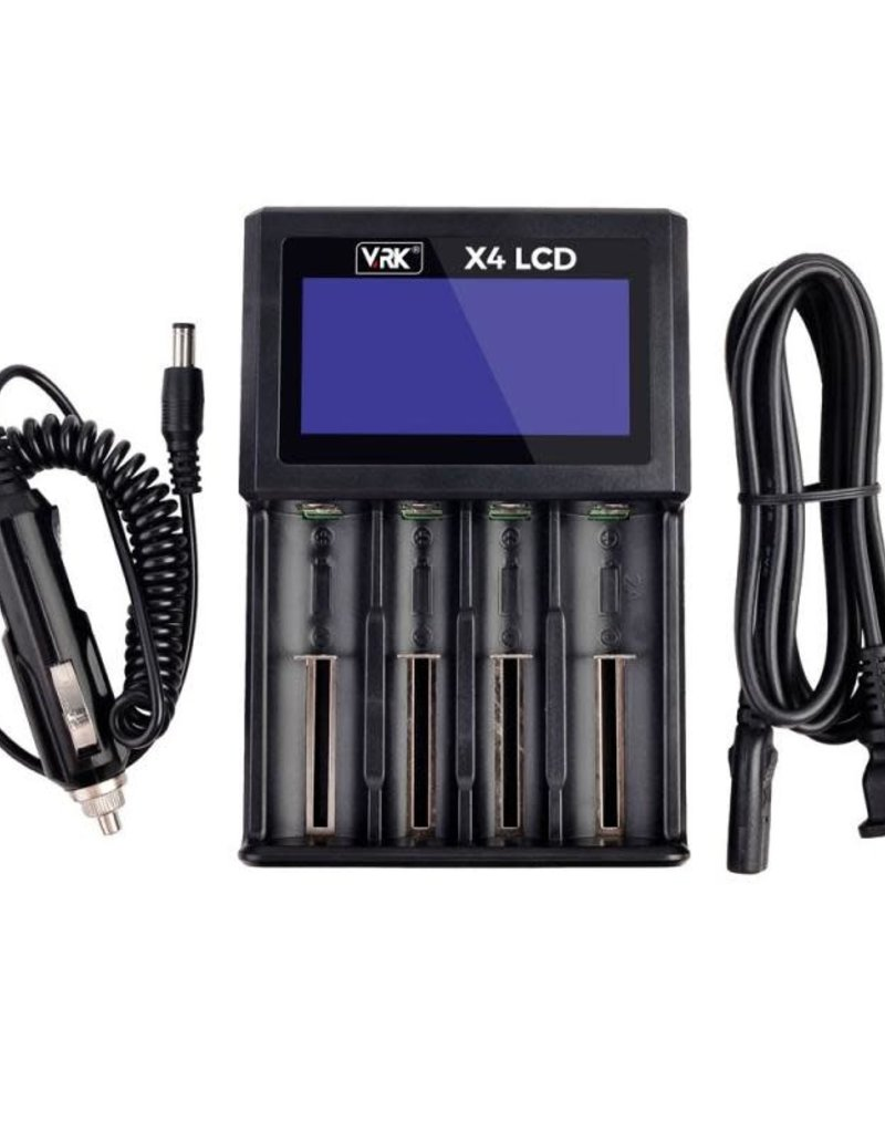 VRK X4 LCD Battery Charger