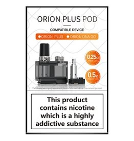 Lost Vape Orion Plus Replacement Pod w/ coils