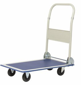 Best Choice 4-Wheel Foldable Flatbed Platform Push Cart w/ 330lb Capacity