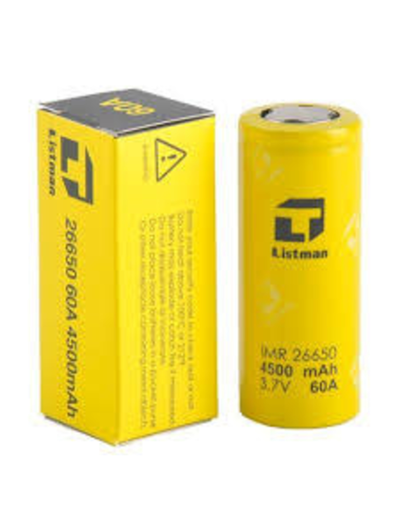 Listman Listman IMR 26650 60A 4500mah Battery (Single)
