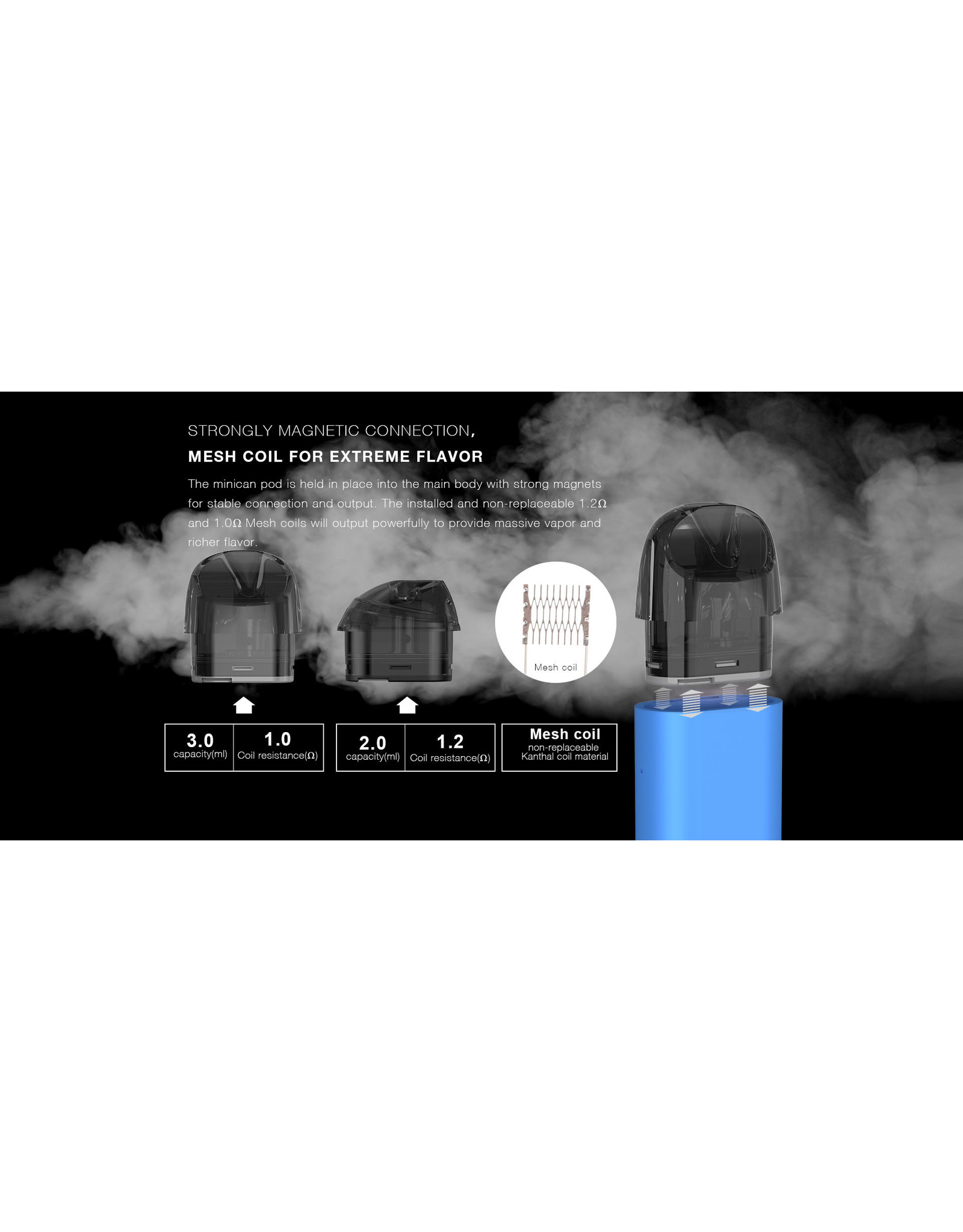Aspire Aspire Minican Replacement Pods (2/Pk) [CRC]