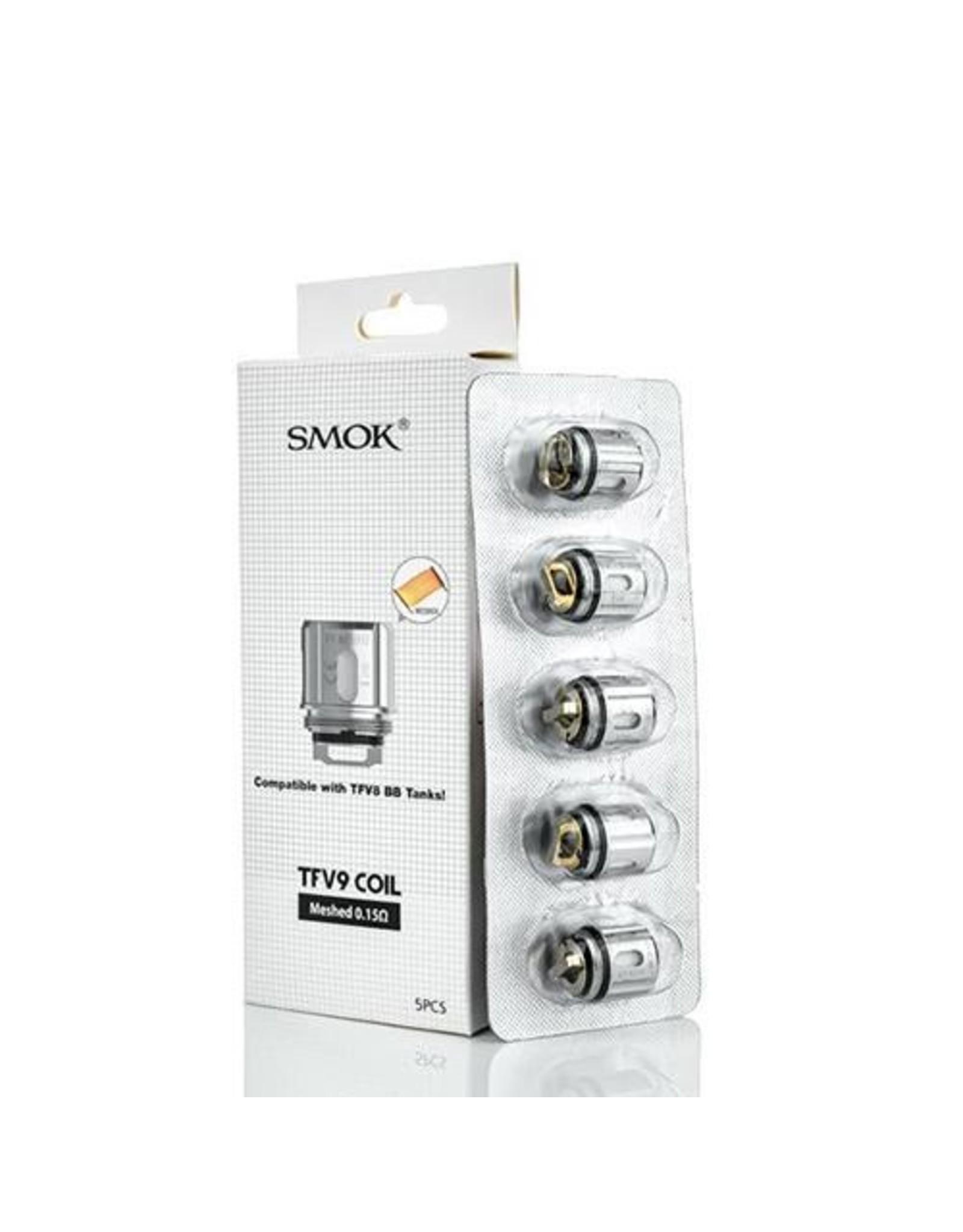 Smok Smok TFV9 Replacement Coils 0.15ohm Mesh