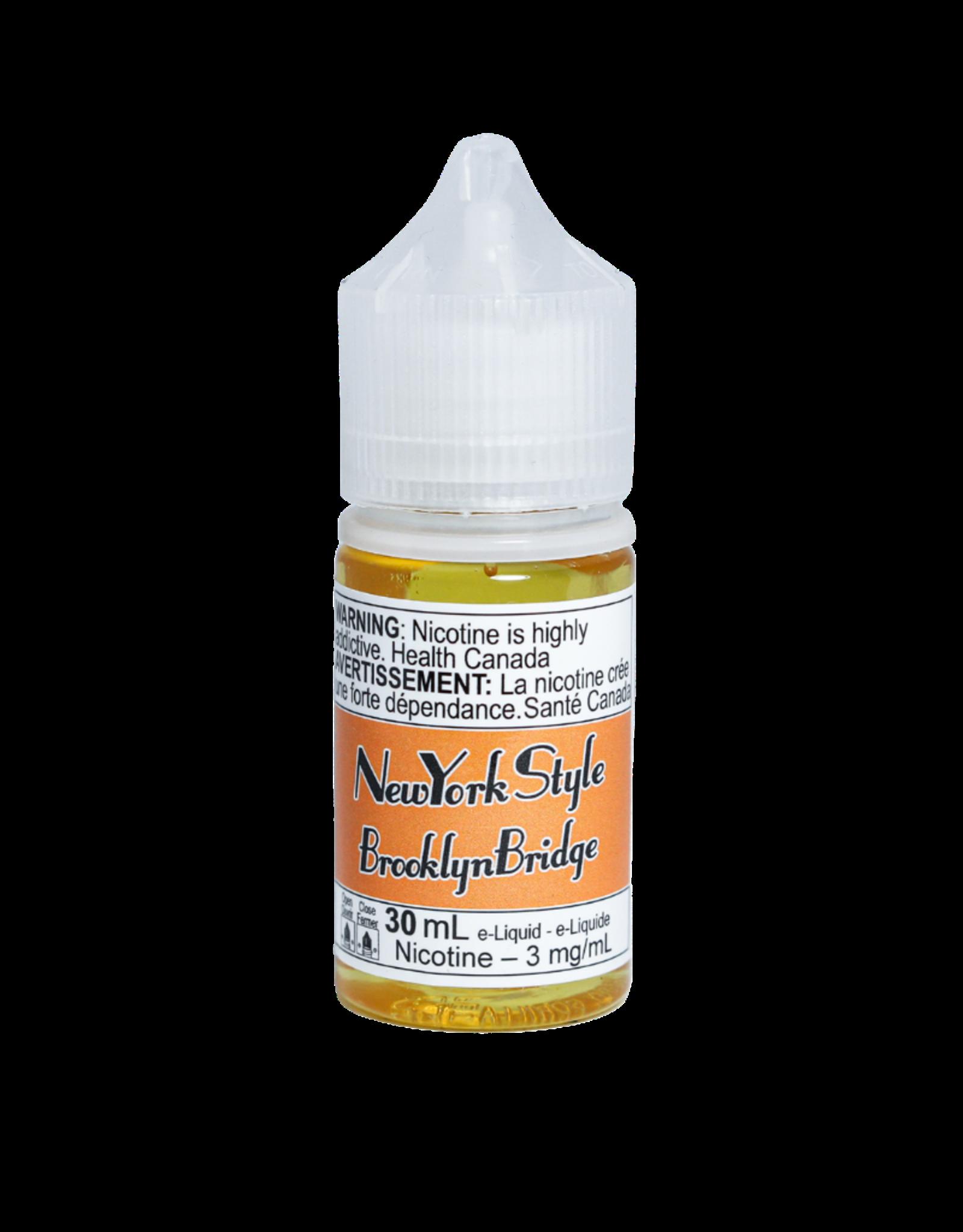 Refined Labs New York Style E-juice | Salt Nic (30mL)