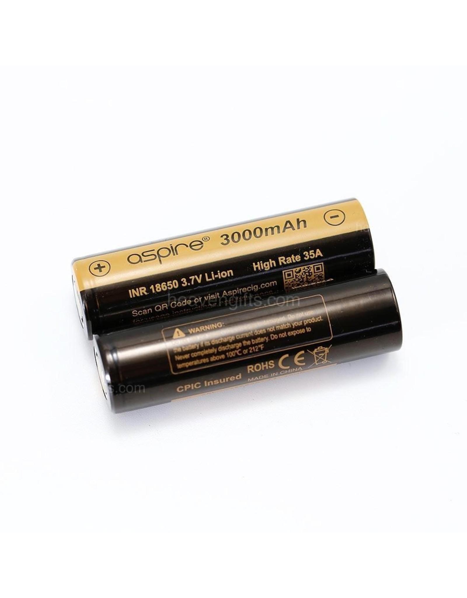 Aspire Aspire 18650 Battery 3000mAh 20A/40A (Single)