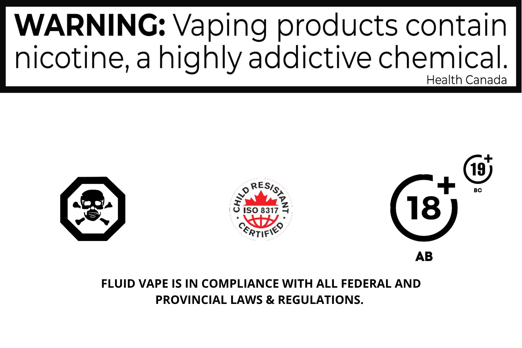 Canada Health WARNING