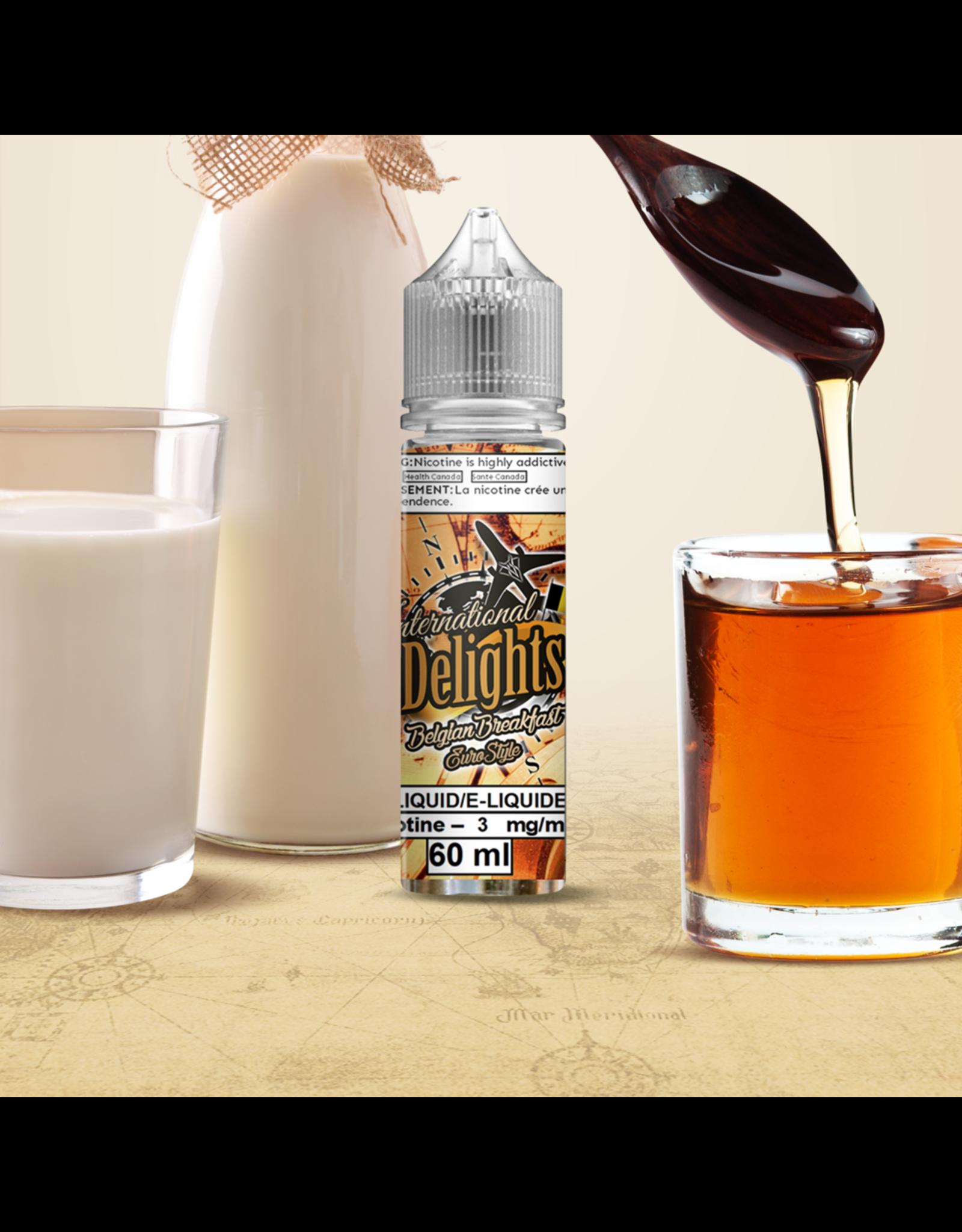 VanGo VanGo International Delights E-Juice   Salt Nic  (30mL)