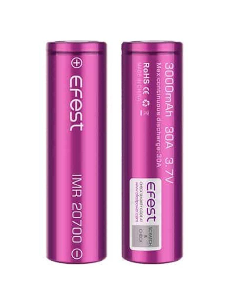 Efest 30A 3000mAh 20700 Battery