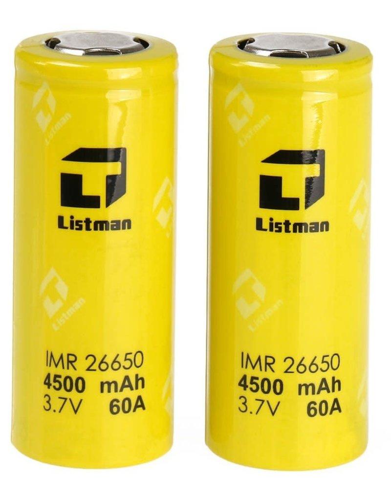 Listman 26650 Battery