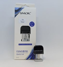 Smok Novo 2 Replacement Pod (Single) Quartz