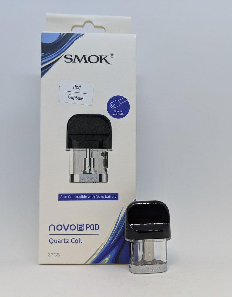 Smok Novo 2 Replacement Pod (Single) Quartz