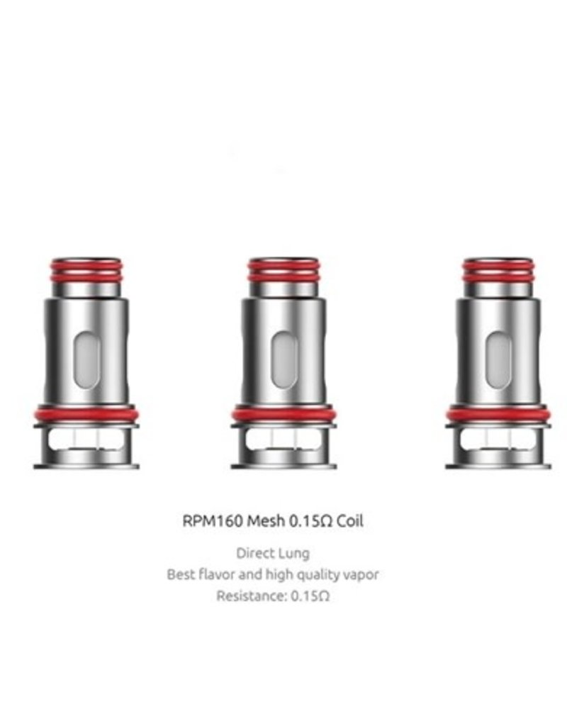 Smok RPM 160 Replacement Coil (Single) Mesh 0.15 ohm