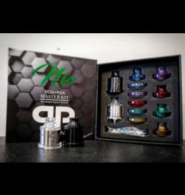 QP Design Nio RDA/RSA Master Kit (Black & Stainless)