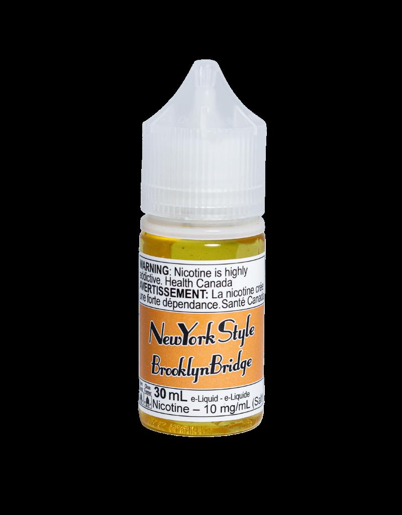 New York Style E-juice | Salt Nic (30mL)