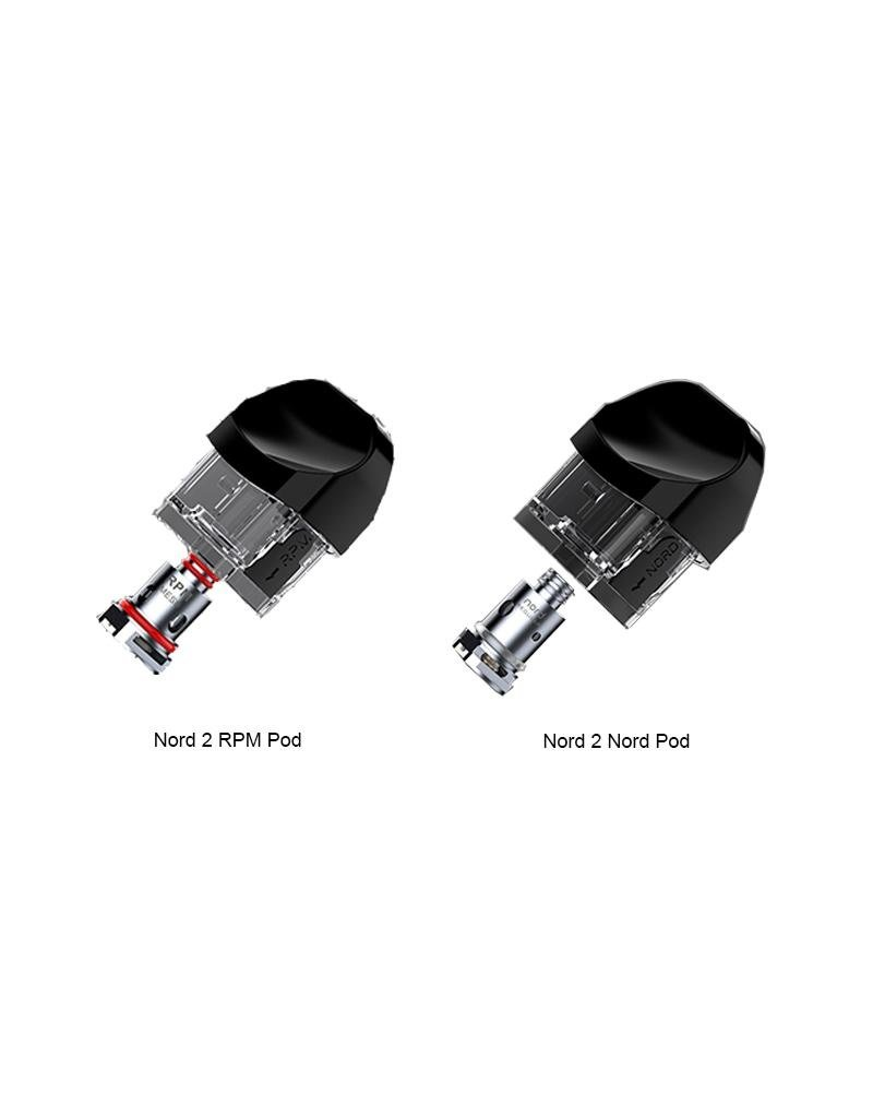 Smok Smok Nord 2 Replacement Pod (Single) (2mL) [CRC]