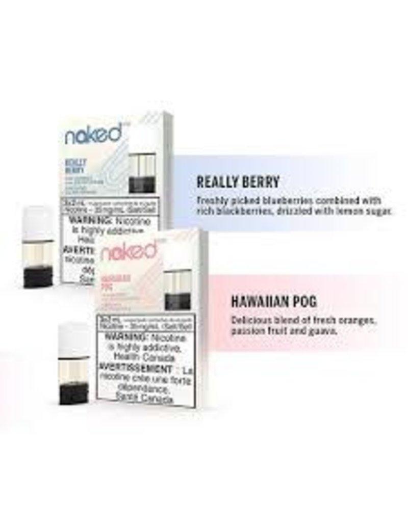 Naked STLTH Pods   Naked100 (3/Pk)