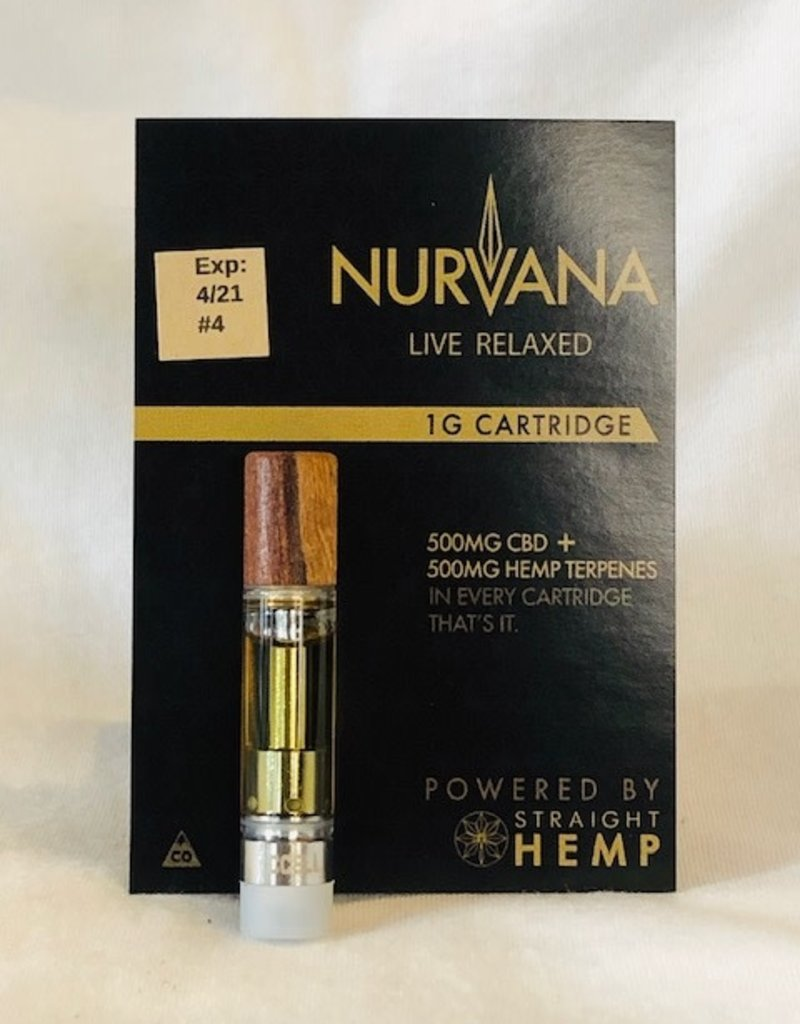 Straight Hemp Nurvana Vape Cartridge