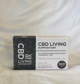 CBD Living CBDLiving - Suppository