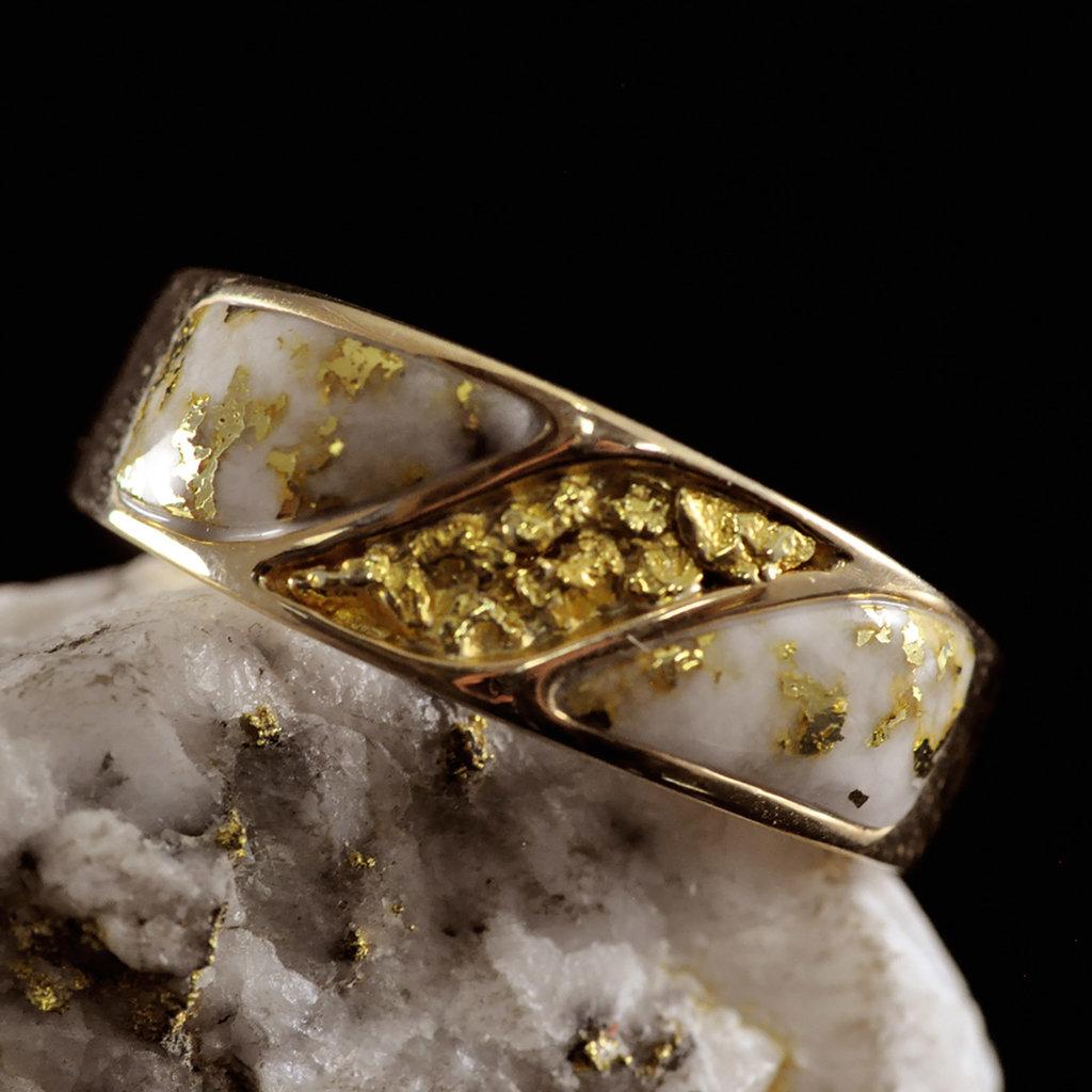Gold Quartz Ring 11 RM900NQ