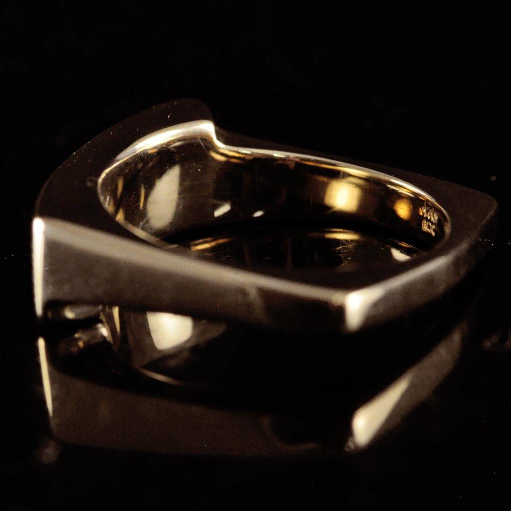 Gold Quartz Ring 6.5 RL837Q