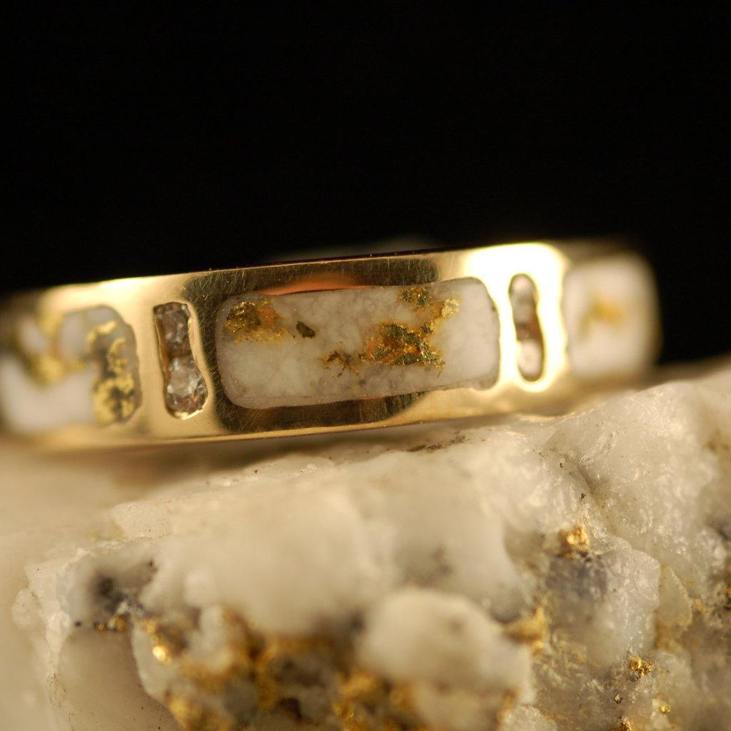 Gold Quartz Ring 7 RL733D8Q