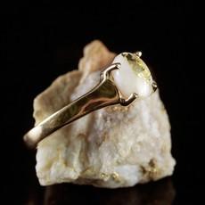 Gold Quartz Ring 6.5 RLDL19075