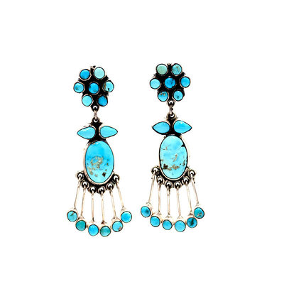 Federico Federico Turquoise Earrings