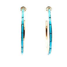 Federico Hoop Earrings FJ0320E09