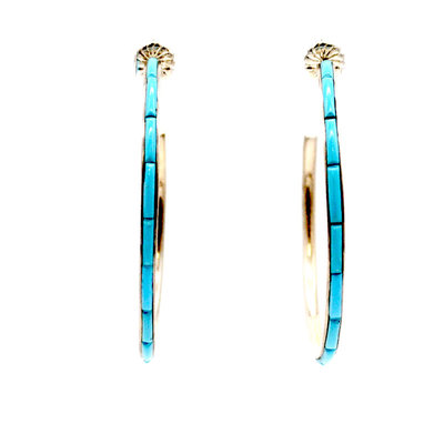 Federico Hoop Earrings FJ0320E09