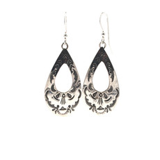 Silver Earrings N0420E14