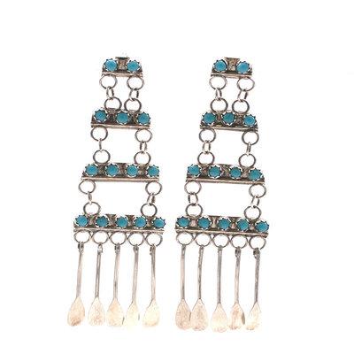 Turquoise Earrings N0420E16