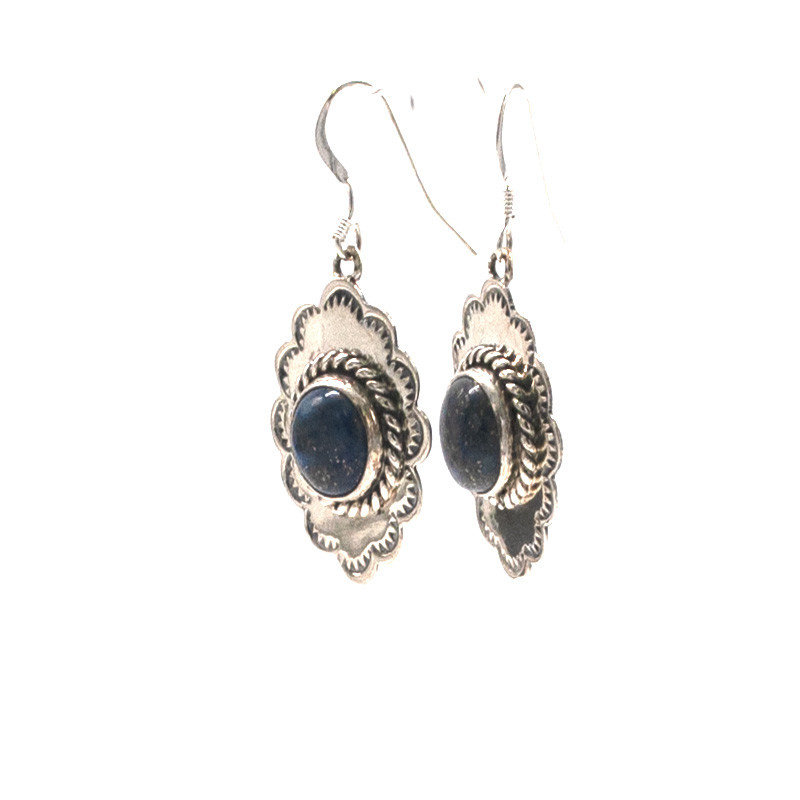 Navajo Lapis Earrings N0420E19