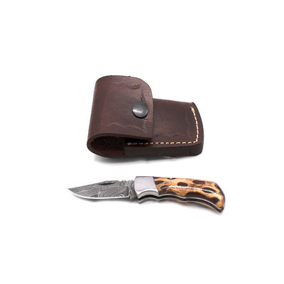 Theta Innovations Small Folder Red Cholla Cactus Knife