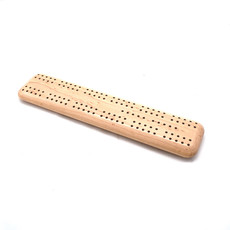 Travel Cribbage, Bird's-eye Maple