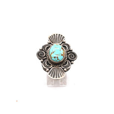 Turquoise Ring Size 6.75