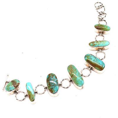 Turquoise Link Bracelet NA0520B16