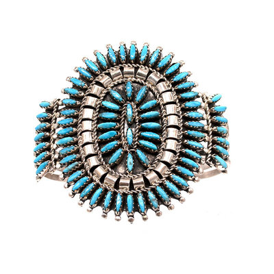 Zuni Turquoise Bracelet ZU0520B04
