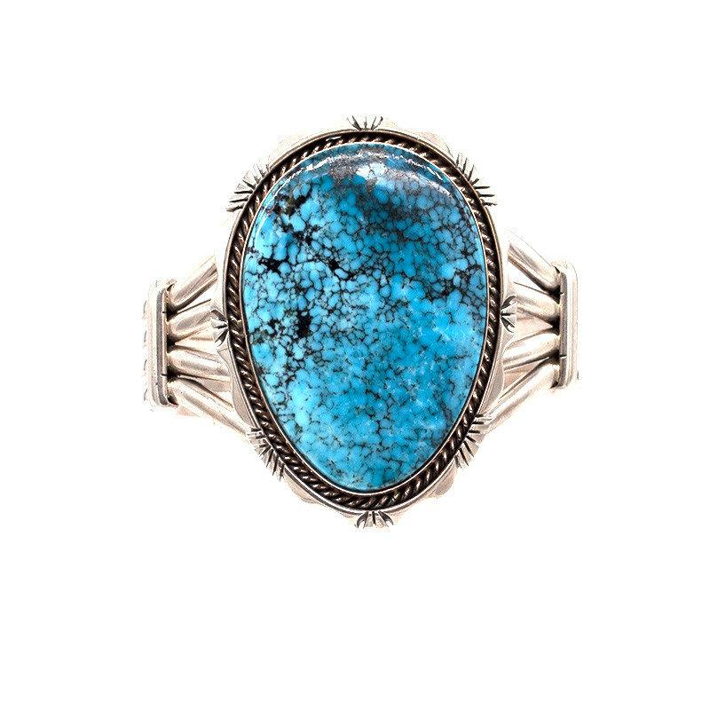 Navajo Turquoise Cuff Bracelet NA0520B18