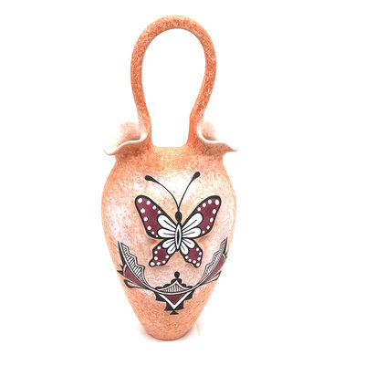 Zuni Butterfly Wedding Vase