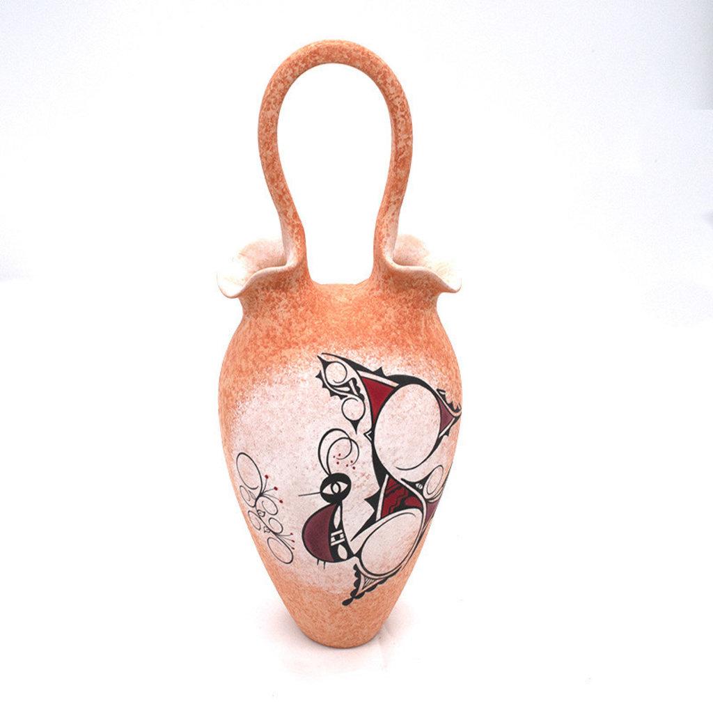 Zuni Butterfly Wedding Vase