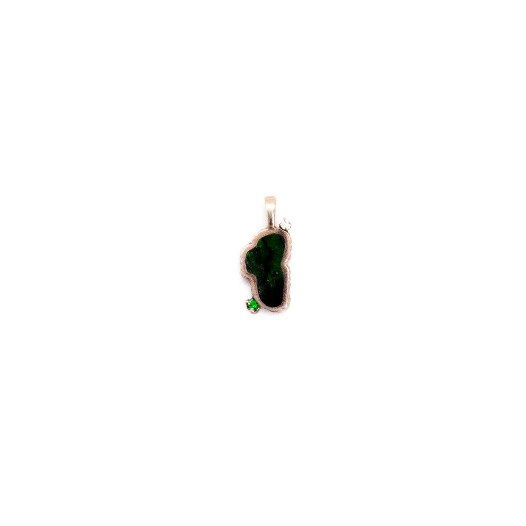 LAKE TAHOE MEDIUM GREEN T EM/D