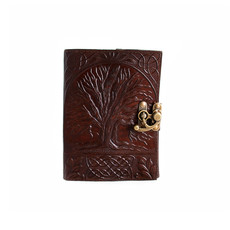 Tree of Life Leather Journal 5x7