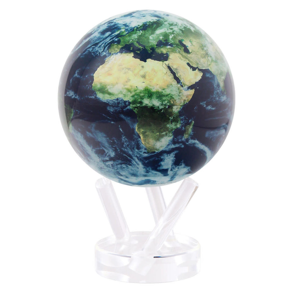 Earth with Clouds Globe 6""