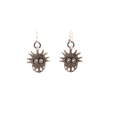 Sterling Silver Navajo Earrings_NA0720E02