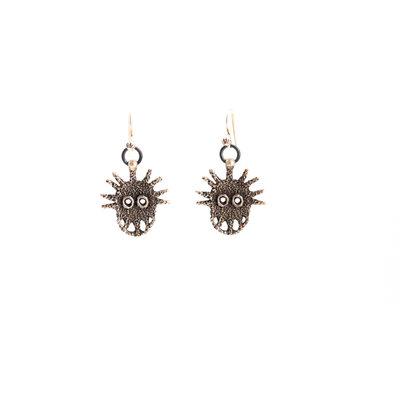 Sterling Silver Navajo Earrings_NA0720E02