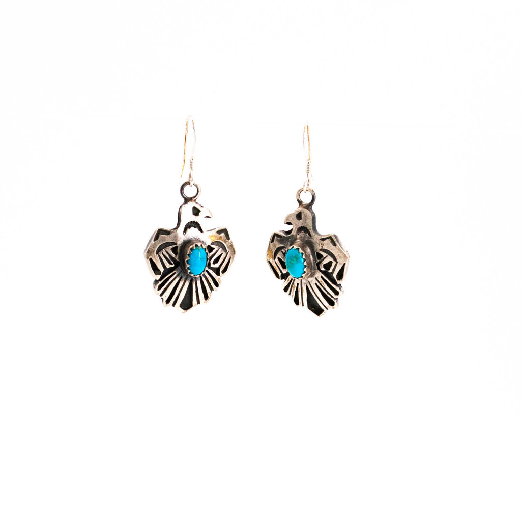 Thunderbird Turquoise Earrings_NA0720E07