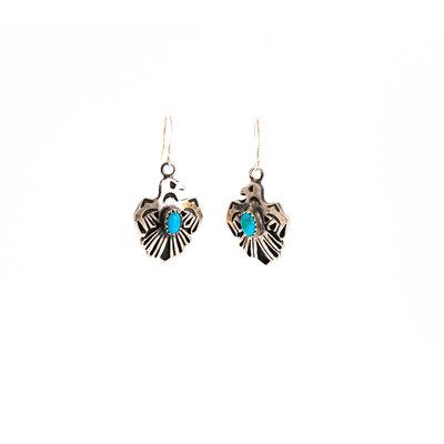 Thunderbird Turquoise Earrings_NA0720E07